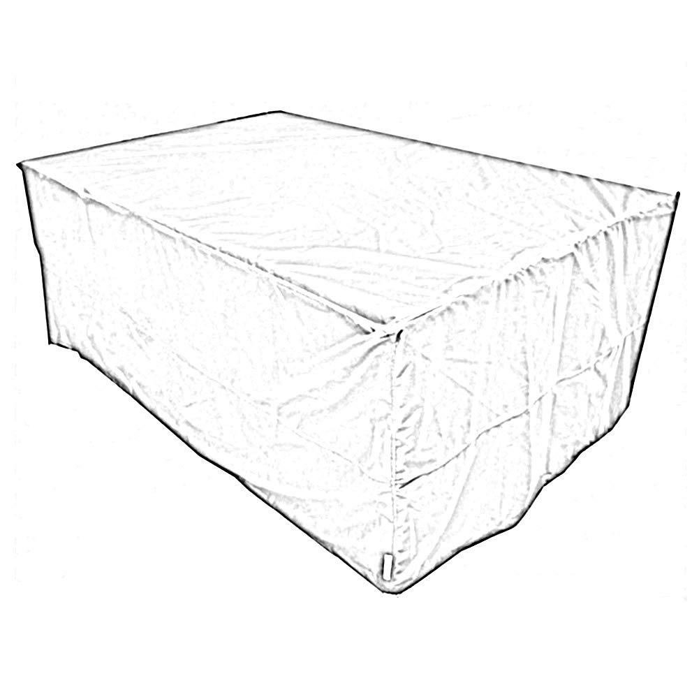 PENGFEI ガーデン家具カバーターポリンタープ 防水シート ダストカバー 日焼け止め パティオ ウィッカー椅子とテーブル 保護クロス、 2色、 2サイズ (色 : 青, サイズ さいず : 185x125x75CM) 185x125x75CM 青 B07JVW6V5J