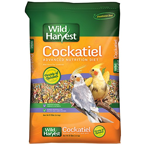 Wild Harvest Cockatiel Advanced Nutrition Diet, 8 Pound