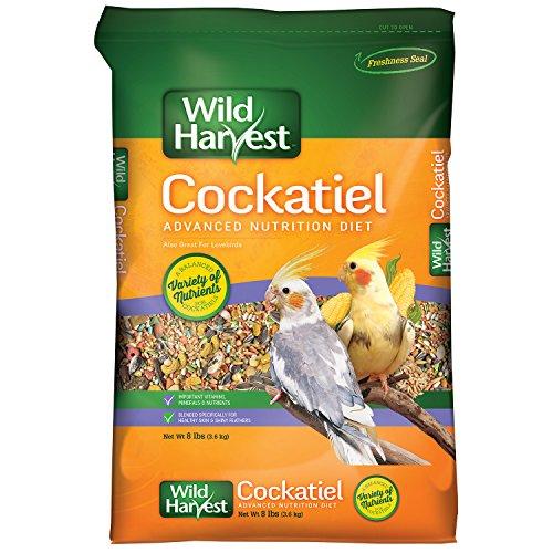 Wild Harvest Cockatiel Advanced Nutrition Diet, 8 Pound