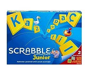 Mattel Scrabble Y9733 - Scrabble Junior Türkçe