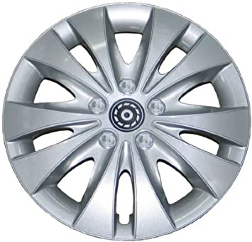 4 Tapacubos Tapacubos tipo Storm Plata apta para Audi 14 pulgadas Llantas de Acero: Amazon.es: Coche y moto