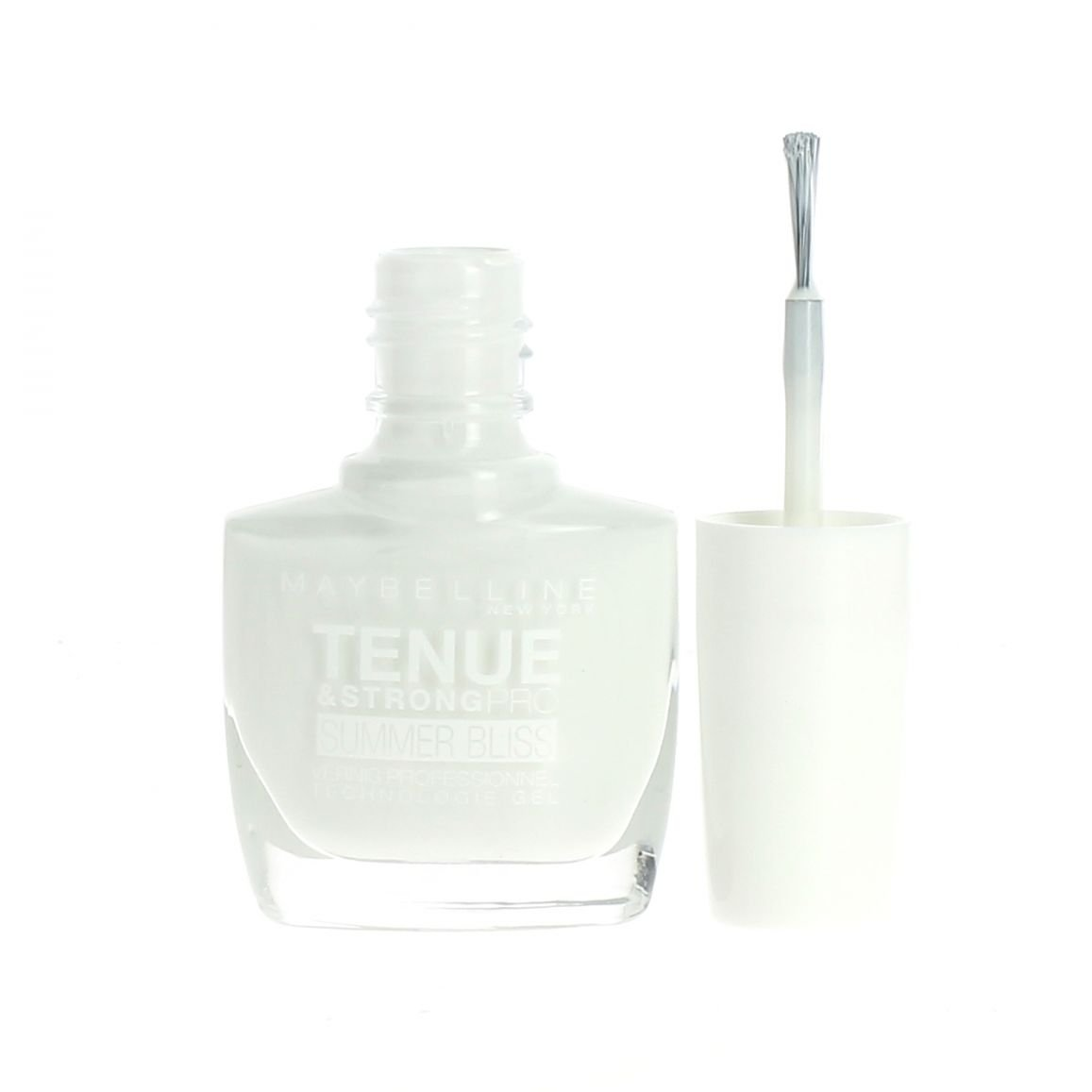 Gemey Maybelline Vernis Tenue & Strong Pro Summer - 871 White Sail