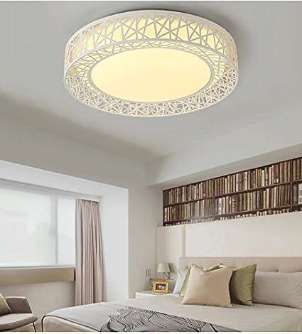 FYios Lámpara de techo de LED moderno montaje empotrado de ...