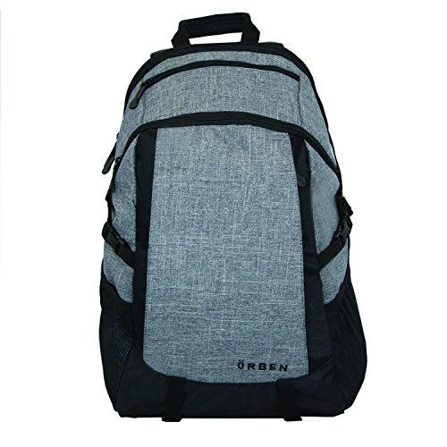 ORBEN Versatile Backpack Travel Outdoor Bag Fits 15'' Laptop with Tablet Pocket by Orben