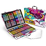 Crayola Inspiration Art Case  in Pink, Portable Art & Coloring Supplies, 140 Pieces, Gifts for Kids