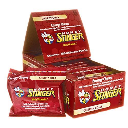 Honey Stinger Organic Energy Chews, Cherry Cola, 12 Count