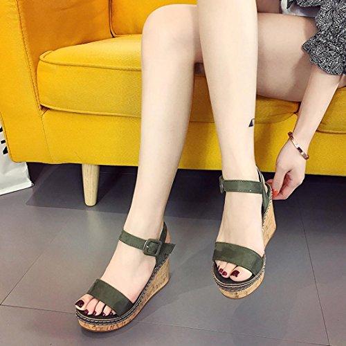 Terciopelo de Cu de Plataforma Sandalias de Sandalias Zapatos Toe 2018 de Tac PAOLIAN Verano Vestir Mujer a Open wS8UcOcRq