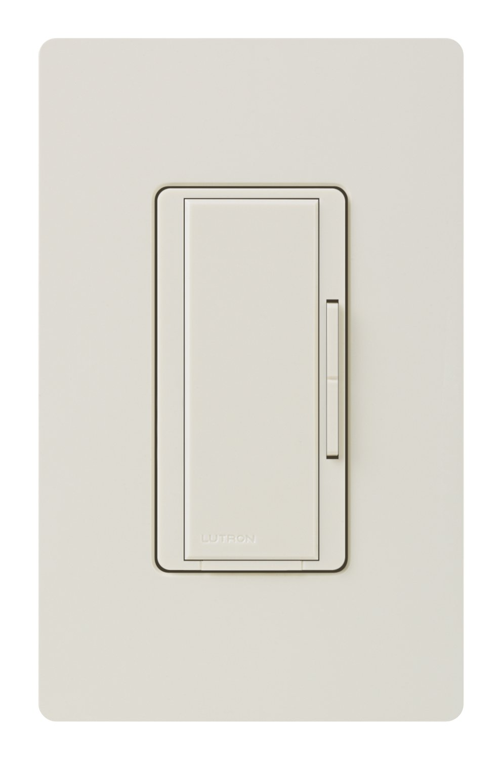 Lutron MA-S8AM-LA 8-Amp Maestro Digital Light Switch, Light Almond ...