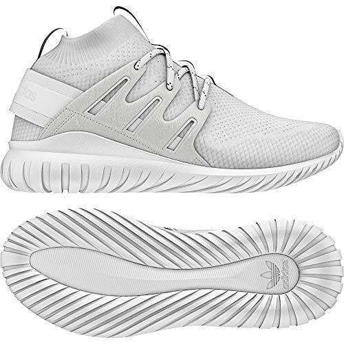 adidas Men's Tubular Nova PK, WHITE/WHTE/WHITE, 4 M US