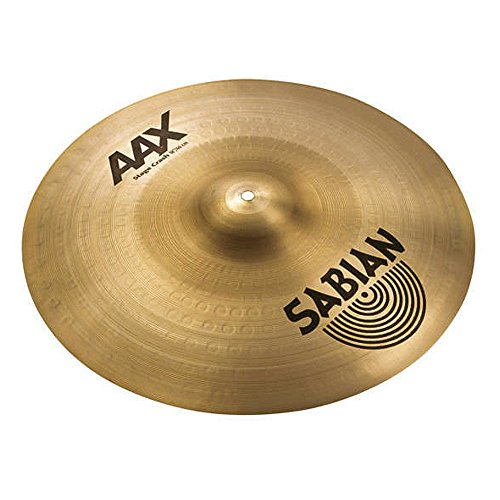 Sabian 21808XB 18 Inch AAX Stage Crash Cymbal Brilliant Finish
