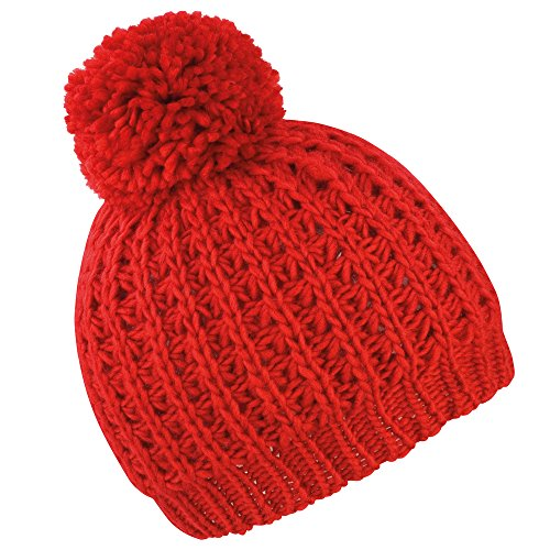 Result Core Knitted flute hat Red ()