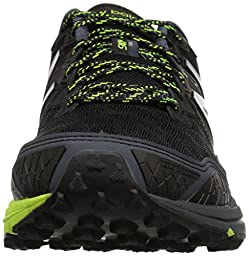New Balance Men\'s MT910V3 Trail Running Shoe, Black/Thunder/Hi Lite, 10 D US