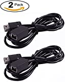 nes console new - Pernos 2Pack 10foot 3Meter Extension Cable for  NES Classic Mini Edition Controller