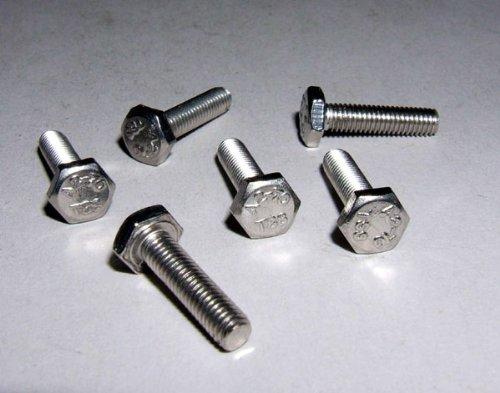 Vis hexagonale en acier inoxydable M4x 12mm