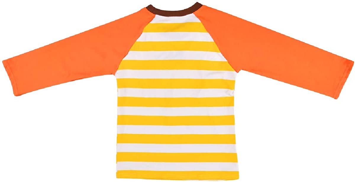 Icing Ruffle Tops Baby Kids Girls Clothes Long Sleeve Cotton T Shirt Tee Blouse