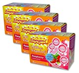 EmergenC, Raspberry, 30 Packets (Pack of 4)