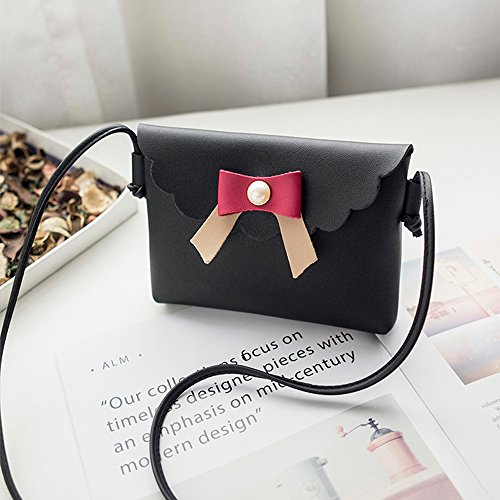 Women Mini Clearance Small Shoulder Fashion Black Handbag Bags Messenger Vintage Tassel fgdqpqw6x