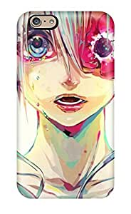 For Iphone 6 PC Phone Case Cover(anime Miku Vocaloid Drawing)