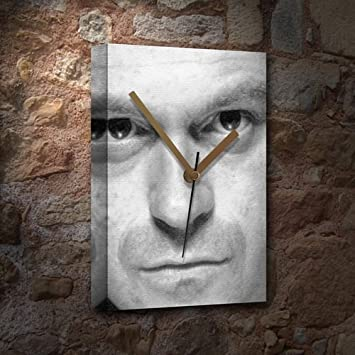 Image result for ross kemp face clock