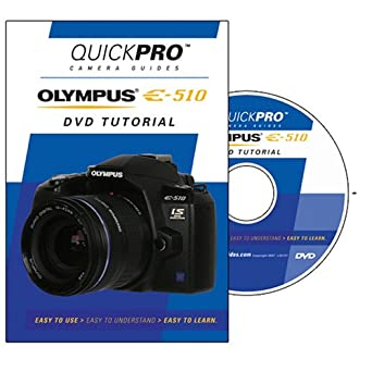 amazon com olympus e 510 instructional dvd by quickpro camera rh amazon com olympus e 510 instruction manual Olympus PEN F