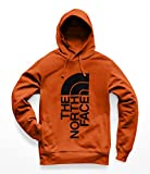 The North Face Men's Trivert Pullover Hoodie - Persian Orange & TNF Black - M