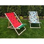 Novamat-Lettino-da-giardino-pieghevole-in-legno-sedia-a-sdraio-sedia-a-sdraio-sedia-a-sdraio-pieghevole-motivo-a-righe-colore-BiancoArancione