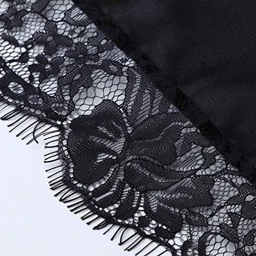 Manches Bikini Couvrir Floral Noir Robe pices Sheer Longues Sixcup Lace en Femme Beachwear Tops Jupe en Fente Longue Dentelle Deux Jupe Moulante Dentelle Plage wTxXx4qSaP