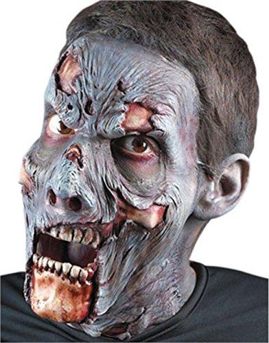 Adult Deluxe Zombie Makeup Kit (Foam Prosthetic Undead Zombie)