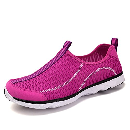 Rose1 Shoes Women Water On PENGCHENG Aqua Breathable Men Shoes Athletic Drying Quick Slip Outdoor Sport gwOw6Rx4q