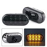 1Pair LED Amber Side Marker Light Indicator Lamp for VW Golf Jetta Bora MK4 Passat B5 B5.5