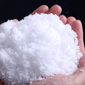 TRENTON Artificial Instant Snow Powder for Slime, Fake Snow for Wedding Festival Party Christmas Decoration 57