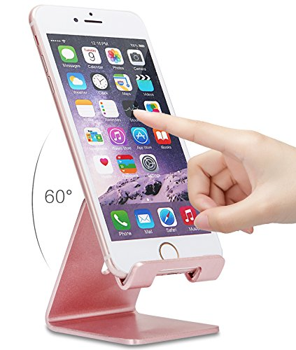 Cell Phone Stand, ZTON Aluminum Metal Tablet Stand, Mobile