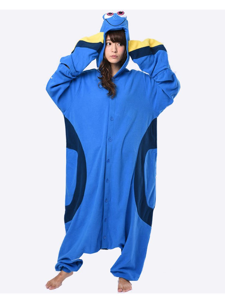 Disney Finding Dory adult fleece Costume (Dolly) [959130]: Amazon ...