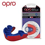 OPRO Self-Fit Mouth Guard Gum Shield for Rugby, UFC, Boxing, Basketball, Karate, MMA, Hockey, Contact Sports - 18 Month Warranty