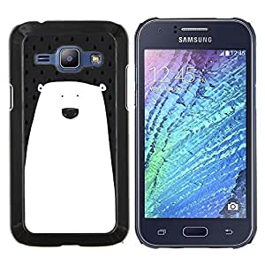 Dragon Case - FOR Samsung Galaxy J1 J100 J100H - Only you know? - Caja protectora de pl??stico duro de la cubierta Dise?¡Ào Slim Fit