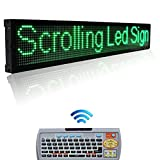 Leadleds 40 x 6.3 Inches P7.62 Green Color LED