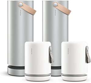 Molekule Air (x2) Air Mini (x2) - Multi-Space Air Purifier Bundle