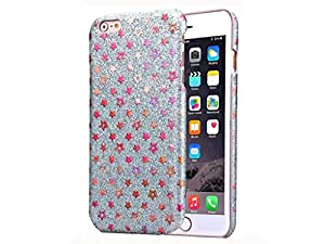 iPhone 6s 6 Glitter Star Case – Silver