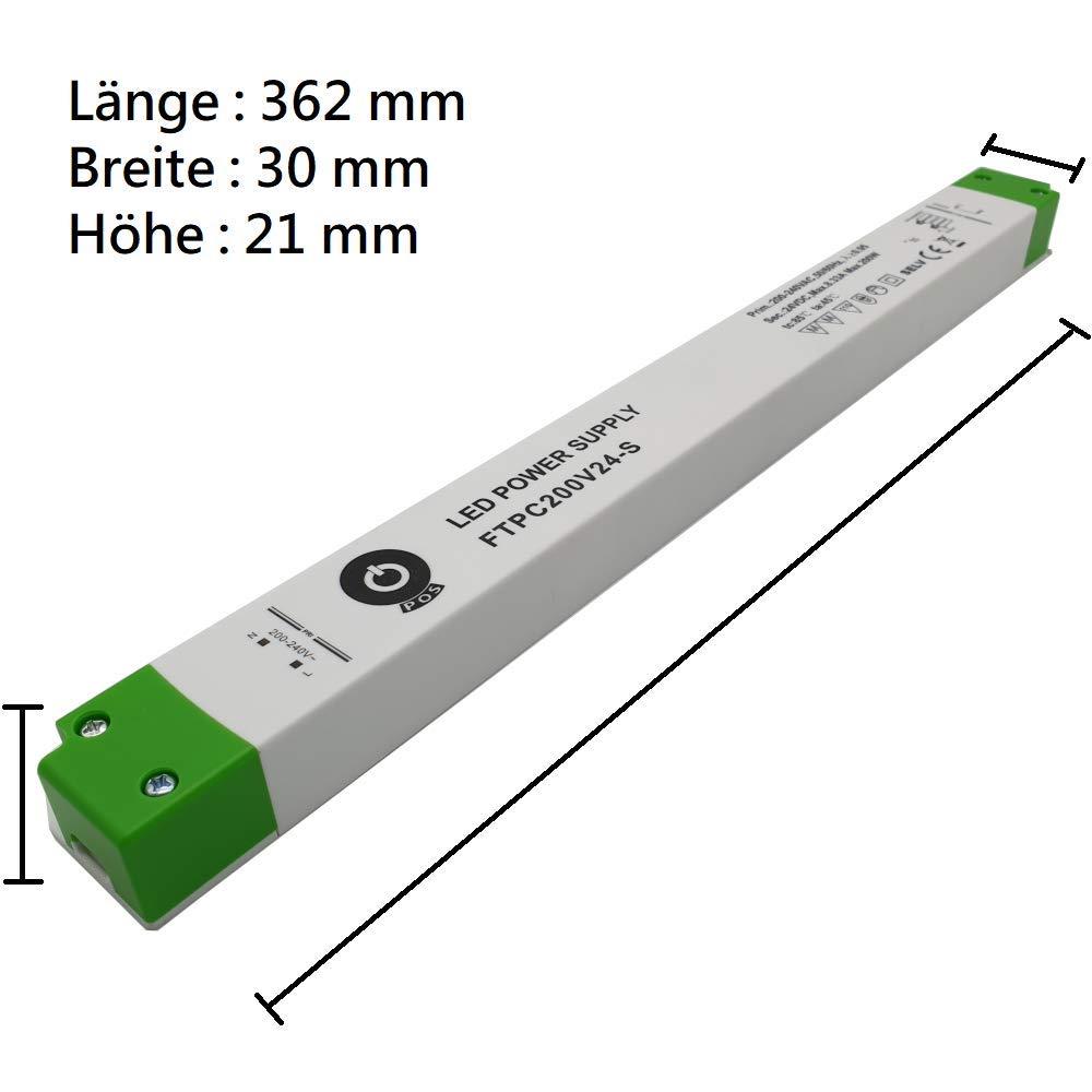 Streifen Strip LED Treiber Driver Trafo Netzteil 24V 60W 100W 150W 200W Transformator DC 60