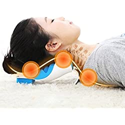 WensLTD Clearance! Neck And Shoulder Relaxer Neck Pain Relief Massage Pillow Neck Support Pillow