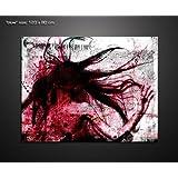 BLOW 100x90cm Wandbild Kult von Paul Sinus XXL Abstrakt Emotion Erotik Leinwandbild fertig gerahmt