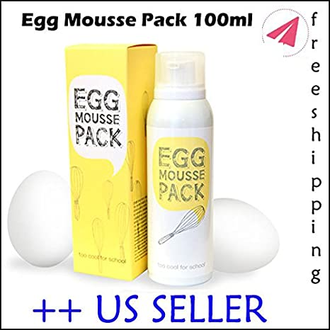 Buy Toocoolforschool Too Cool For School Egg Mousse Pack 100ml Us