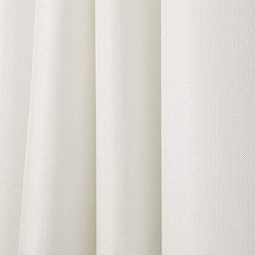 Exclusive Home Curtains Biscayne Indoor/Outdoor Two Tone Textured Grommet Top Curtain Panel Pair