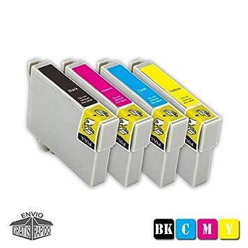 Pack 4 X Cartuchos DE Tinta COMPATIBLES T2991 BK XL: Amazon.es ...