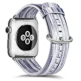 Apple Watch Band 38mm,MAPUCE Genuine Leather iwatch strap...