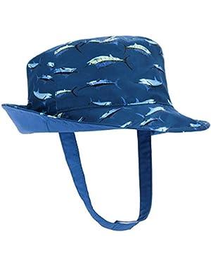 Toddler Hat Baby Kids Boy Girl Bucket Reversible Sun Protection Animal Hat