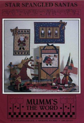 Debbie Mumm Star - Star Spangled Santas (Quilt Wallhangings)