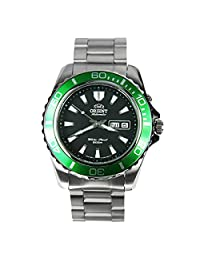 Orient Automatic Dive Watch CEM75003B (Green Bezel Mako II)