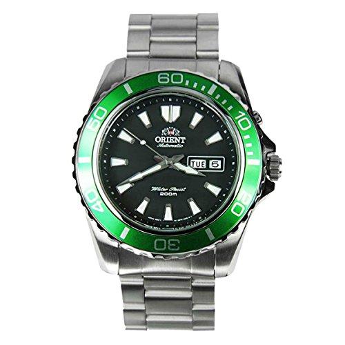Orient Automatic Dive Watch CEM75003B (Green Bezel Mako II) (Automatic Dive Watch Mako)