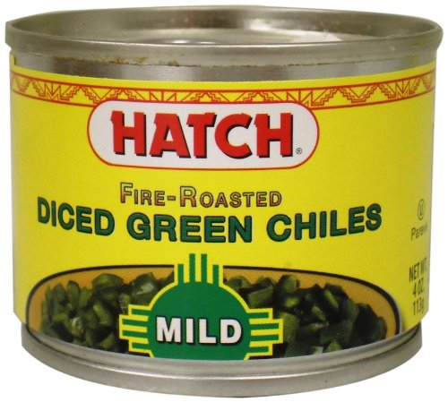 (Hatch Diced Mild Green Chilies, 4-Ounce (Pack of 8))